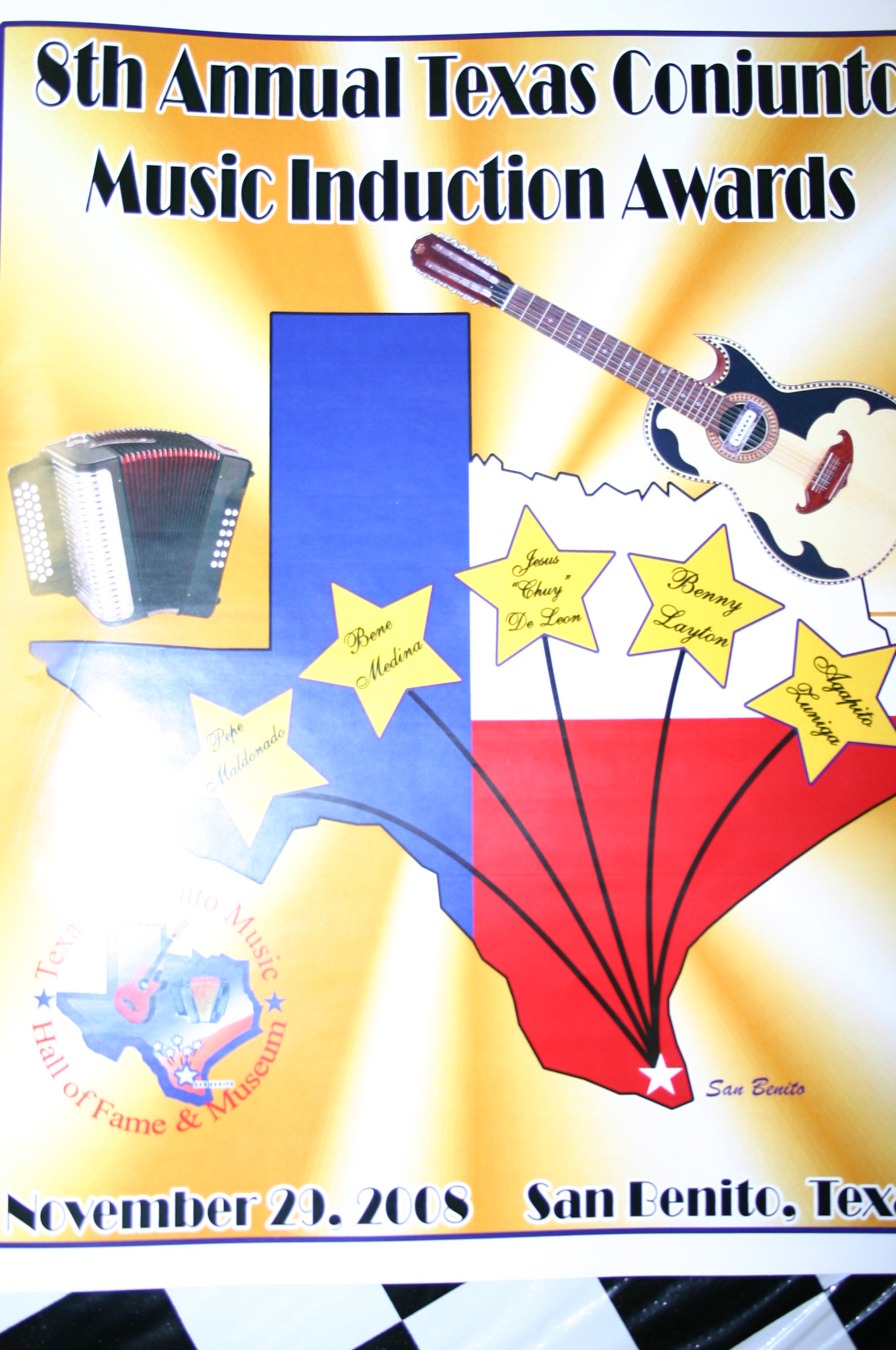 8th Annual Texas Conjunto Music Induction Awards