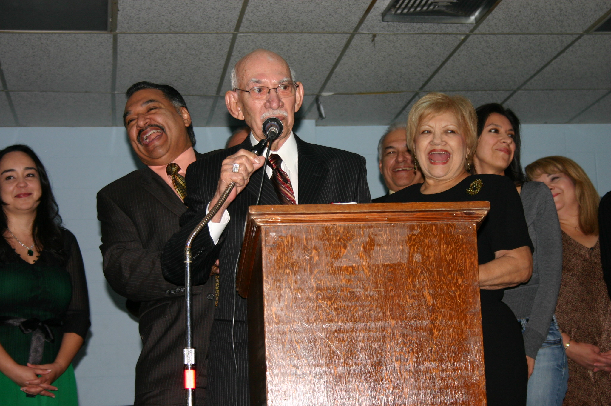 Agapito's acceptance speech at Conjunto Music Induction Awards