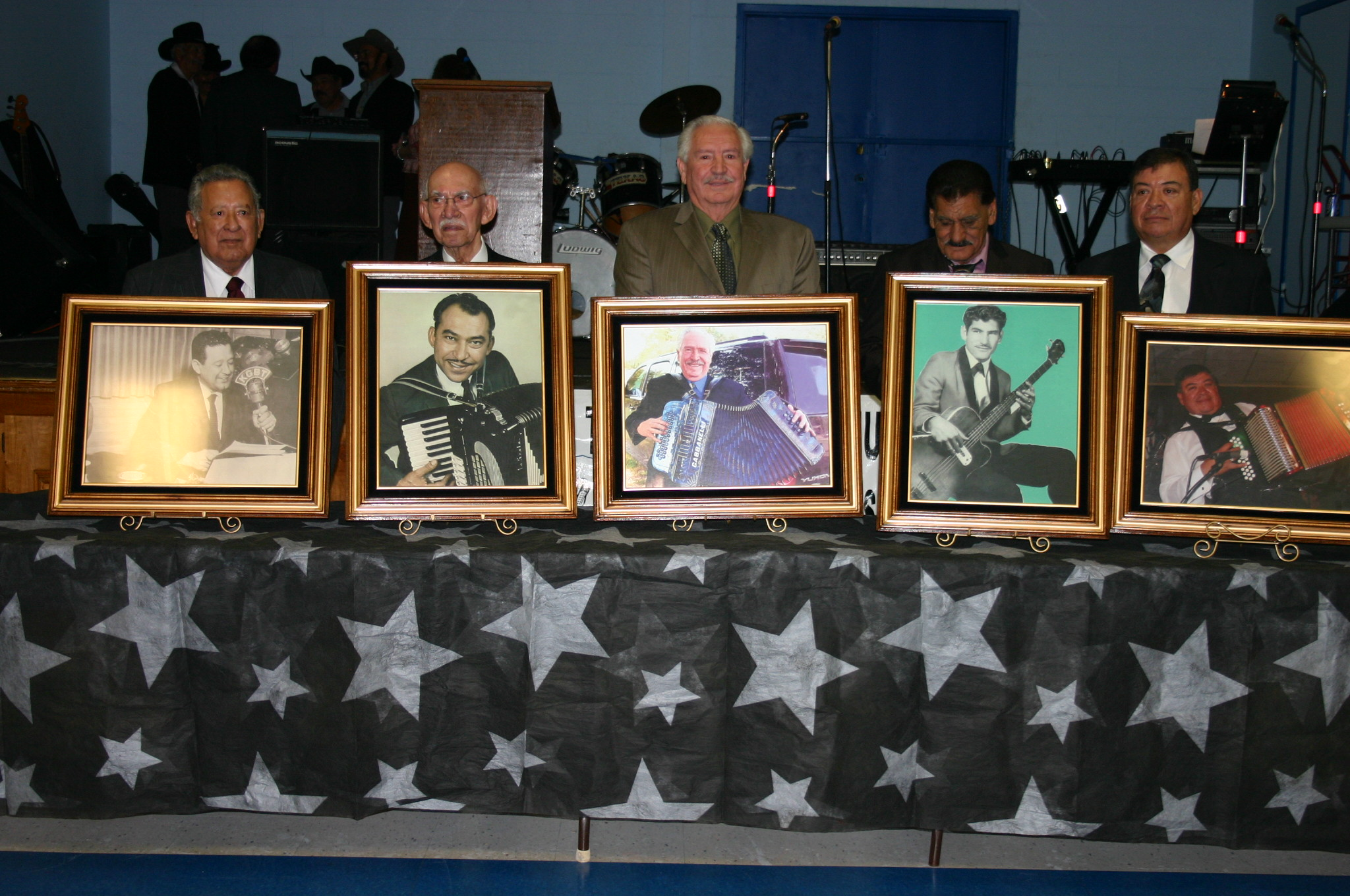Inductees to the Texas Conjunto Music Hall of Fame & Museum