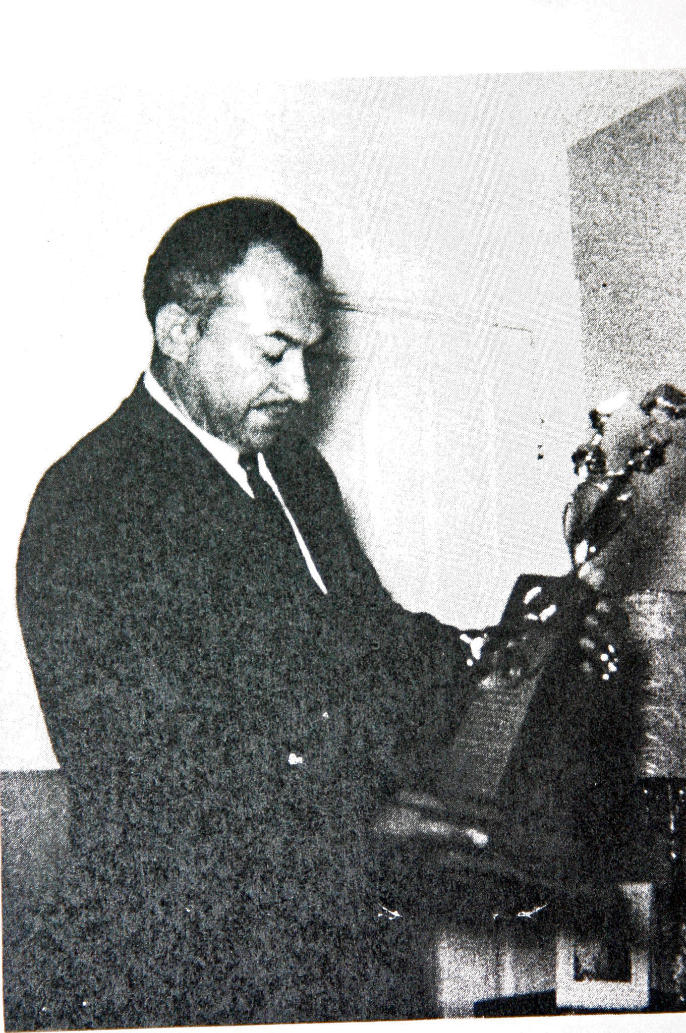 Another trophy received by Agapito from Manuel Villafranca (1963)