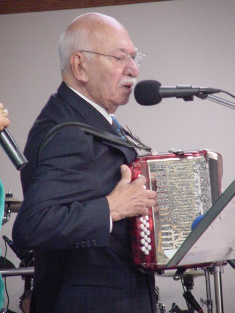 Agapito at the Lord is Peace Worship Center, Corpus Christi, Texas